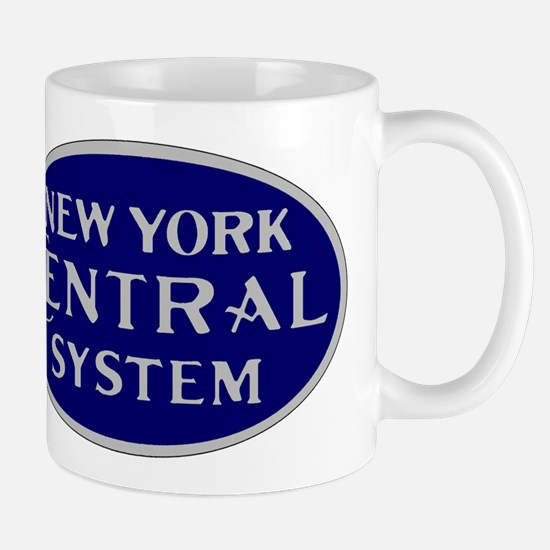New York Central System logo - blue Mugs