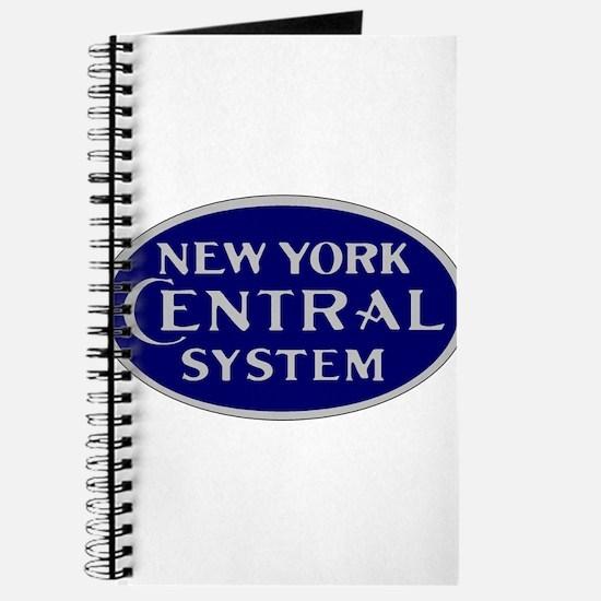 New York Central System logo - blue Journal
