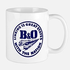B&O Railroad Logo Mugs