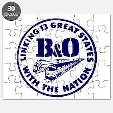 B&O Railroad Logo Puzzle