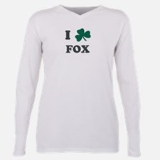 Cute Clover%2cpeace. love. shamrock Plus Size Long Sleeve Tee