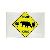 Black bear cub Magnets