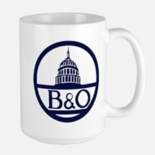 Baltimore & Ohio Railroad- Modern Mugs