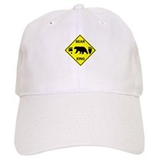Bear and Tracks XING Baseball Baseball Cap