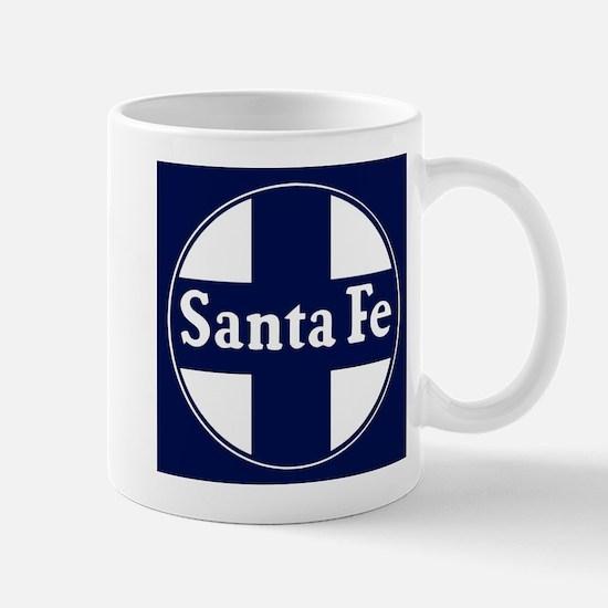 Santa Fe Railroad - background Mugs