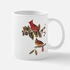 Cardinal Grosbeak Vintage Audubon Birds Mugs