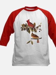Cardinal Grosbeak Vintage Audubon Birds Baseball J