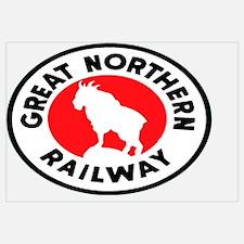 Funny Railway Wall Art