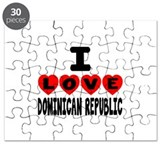 Iron on dominican republic flag Puzzles