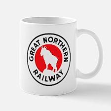 Great Northern Railway logo 2 Mugs