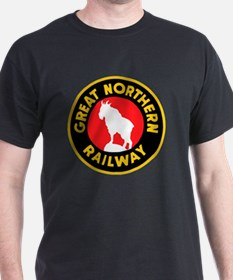 Funny Great northern railroad T-Shirt