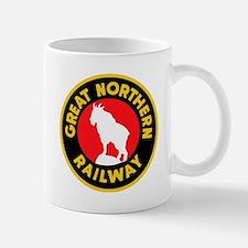 Great Northern Railway logo 4 Mugs