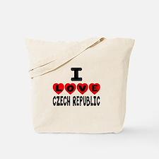 I Love Czech Republic Tote Bag