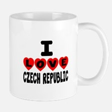I Love Czech Republic Mug