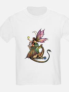 Dragon's Orbs Fairy and Dragon Ar T-Shirt