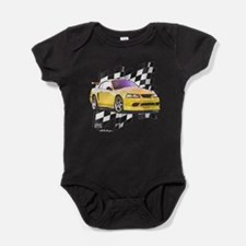 Unique 2009 mustang Baby Bodysuit