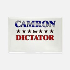 CAMRON for dictator Rectangle Magnet