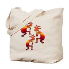 Three Kokopelli #56 Tote Bag