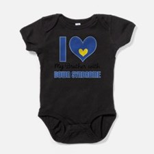 Unique Support down syndrome Baby Bodysuit