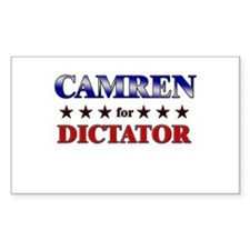 CAMREN for dictator Rectangle Decal