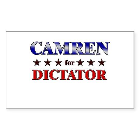 CAMREN for dictator Rectangle Sticker