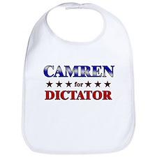 CAMREN for dictator Bib