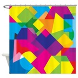 Colourful Shower Curtains