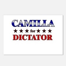 CAMILLA for dictator Postcards (Package of 8)