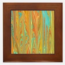 Cute Distorted Framed Tile