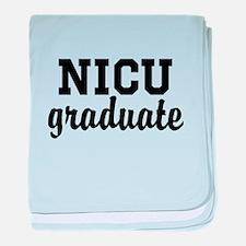 NICU graduate baby blanket