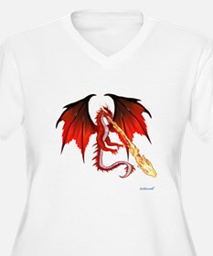 Devil Dragon Plus Size T-Shirt