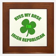 Irish Republican Framed Tile