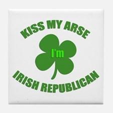 Irish Republican Tile Coaster
