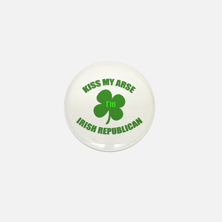 Irish Republican Mini Button