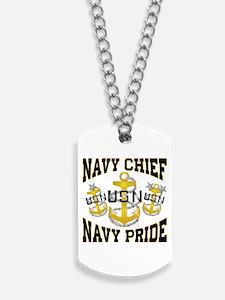 Navy Chief Dog Tags