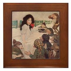 Smith's Snow White Framed Tile