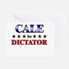 CALE for dictator Greeting Card