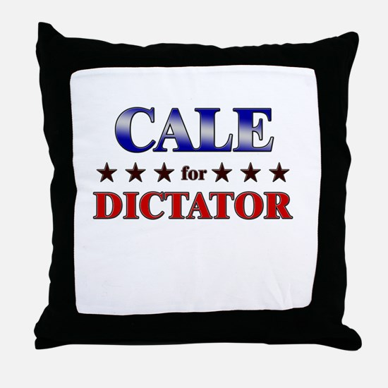 CALE for dictator Throw Pillow