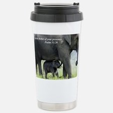 Funny Elephant Travel Mug