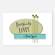 Everybody Loves a Travel Agent Postcards (Package