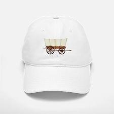 Covered Wagon Wheel Baseball Baseball Cap