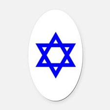 Unique Jew Oval Car Magnet