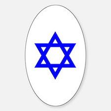 Cute Jew Sticker (Oval)