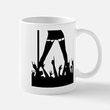 Pole Dancer And Audience Mugs