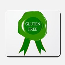 Green Gluten Free Seal Mousepad