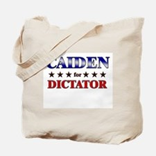 CAIDEN for dictator Tote Bag