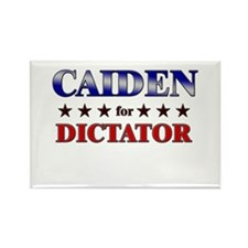 CAIDEN for dictator Rectangle Magnet