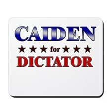 CAIDEN for dictator Mousepad