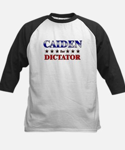 CAIDEN for dictator Kids Baseball Jersey
