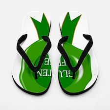 Green Gluten Free Seal Flip Flops